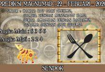 PREDIKSI TOGEL MAGNUM4D HARI SABTU 22 FEBRUARY 2020