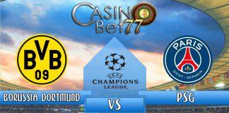 Prediksi Liga Champions Borussia Dortmund vs Paris Saint-Germain
