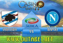 Prediksi Pertandingan Sampdoria vs Napoli 04 Febuari 2020