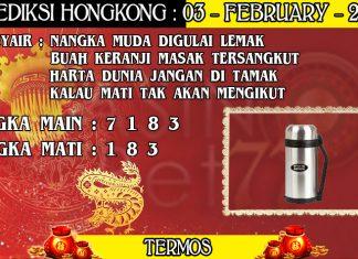 PREDIKSI TOGEL HONGKONG HARI SENIN 03 FEBRUARY 2020