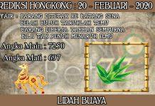 PREDIKSI TOGEL HONGKONG HARI KAMIS 20 FEBRUARY 2020