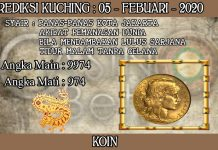 PREDIKSI TOGEL KUCHING HARI RABU 05 FEBRUARY 2020