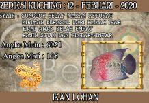 PREDIKSI TOGEL KUCHING HARI RABU 12 FEBRUARY 2020