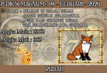 PREDIKSI TOGEL MAGNUM4D HARI MINGGU 09 FEBRUARY 2020