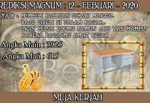 PREDIKSI TOGEL MAGNUM4D HARI RABU 12 FEBRUARY 2020