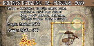 PREDIKSI TOGEL PETALING HARI RABU 05 FEBRUARY 2020