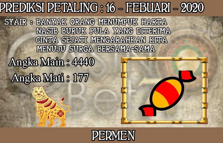 PREDIKSI TOGEL PETALING HARI MINGGU 16 FEBRUARY 2020