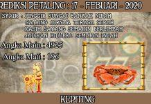 PREDIKSI TOGEL PETALING HARI SENIN 17 FEBRUARY 2020