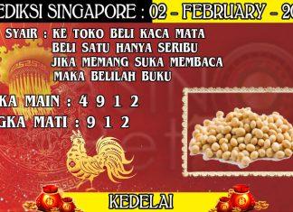 PREDIKSI TOGEL SINGAPORE HARI MINGGU 02 FEBRUARY 2020