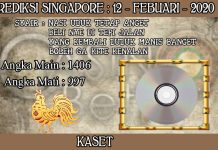 PREDIKSI TOGEL SINGAPORE HARI RABU 12 FEBRUARY 2020