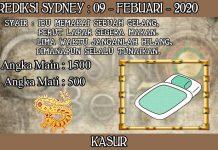 PREDIKSI TOGEL SYDNEY HARI MINGGU 09 FEBRUARY 2020