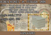 PREDIKSI TOGEL SYDNEY HARI SELASA 18 FEBRUARY 2020