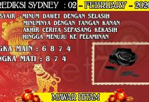PREDIKSI TOGEL SYDNEY HARI MINGGU 02 FEBRUARY 2020