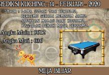 PREDIKSI TOGEL KUCHING HARI KAMIS 14 FEBRUARY 2020