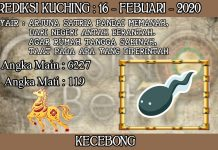PREDIKSI TOGEL KUCHING HARI MINGGU 16 FEBRUARY 2020