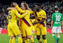 Hasil Pertandingan Real Betis vs Barcelona: Skor 2-3