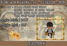 PREDIKSI TOGEL HONGKONG HARI JUMAT 07 FEBRUARY 2020