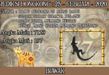 PREDIKSI TOGEL HONGKONG HARI SELASA 25 FEBRUARY 2020