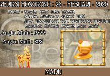 PREDIKSI TOGEL HONGKONG HARI RABU 26 FEBRUARY 2020