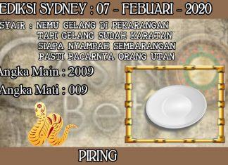 PREDIKSI TOGEL SYDNEY HARI JUMAT 07 FEBRUARY 2020