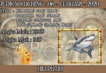 PREDIKSI TOGEL KUCHING HARI KAMIS 06 FEBRUARY 2020