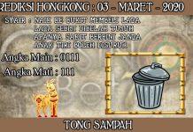 PREDIKSI TOGEL HONGKONG HARI SELASA 03 MARET 2020