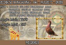 PREDIKSI TOGEL HONGKONG HARI JUMAT 06 MARET 2020