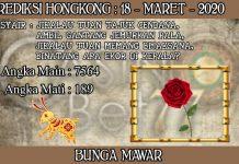 PREDIKSI TOGEL HONGKONG HARI RABU 18 MARET 2020