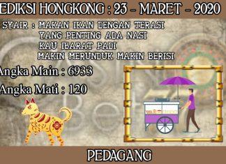 PREDIKSI TOGEL HONGKONG HARI SENIN 23 MARET 2020