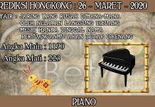 PREDIKSI TOGEL HONGKONG HARI KAMIS 26 MARET 2020