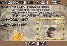 PREDIKSI TOGEL MAGNUM4D HARI SABTU 14 MARET 2020