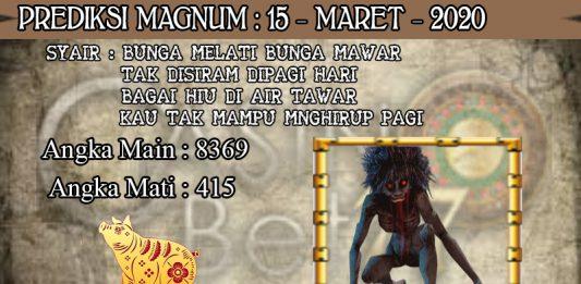 PREDIKSI TOGEL MAGNUM4D HARI MINGGU 15 MARET 2020