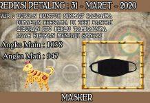 PREDIKSI TOGEL PETALING HARI SELASA 31 MARET 2020