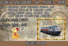 PREDIKSI TOGEL SINGAPORE HARI MINGGU 08 MARET 2020
