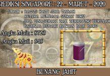 PREDIKSI TOGEL SINGAPORE HARI MINGGU 22 MARET 2020
