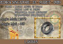 PREDIKSI TOGEL SINGAPORE HARI SENIN 23 MARET 2020
