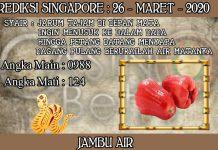 PREDIKSI TOGEL SINGAPORE HARI KAMIS 26 MARET 2020