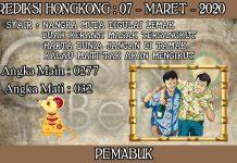 PREDIKSI TOGEL HONGKONG HARI SABTU 07 MARET 2020