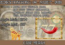 PREDIKSI TOGEL HONGKONG HARI SENIN 09 MARET 2020
