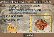 PREDIKSI TOGEL HONGKONG HARI SELASA 10 MARET 2020