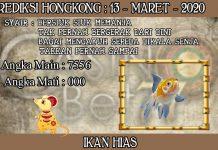 PREDIKSI TOGEL HONGKONG HARI JUMAT 13 MARET 2020