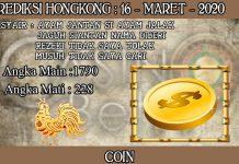 PREDIKSI TOGEL HONGKONG HARI SENIN 16 MARET 2020