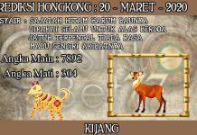 PREDIKSI TOGEL HONGKONG HARI JUMAT 20 MARET 2020
