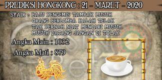 PREDIKSI TOGEL HONGKONG HARI SABTU 21 MARET 2020