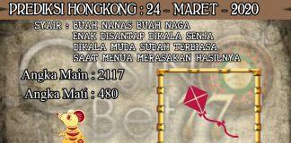 PREDIKSI TOGEL HONGKONG HARI SELASA 24 MARET 2020