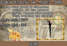 PREDIKSI TOGEL PETALING HARI JUMAT 06 MARET 2020