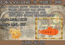 PREDIKSI TOGEL SINGAPORE HARI KAMIS 19 MARET 2020
