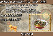 PREDIKSI TOGEL HONGKONG HARI SABTU 04 APRIL 2020
