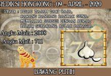 PREDIKSI TOGEL HONGKONG HARI KAMIS 09 APRIL 2020