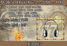 PREDIKSI TOGEL HONGKONG HARI SELASA 21 APRIL 2020